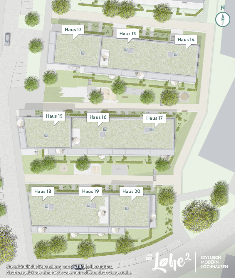 Immobilie An der Lohe 2 - Lageplan
