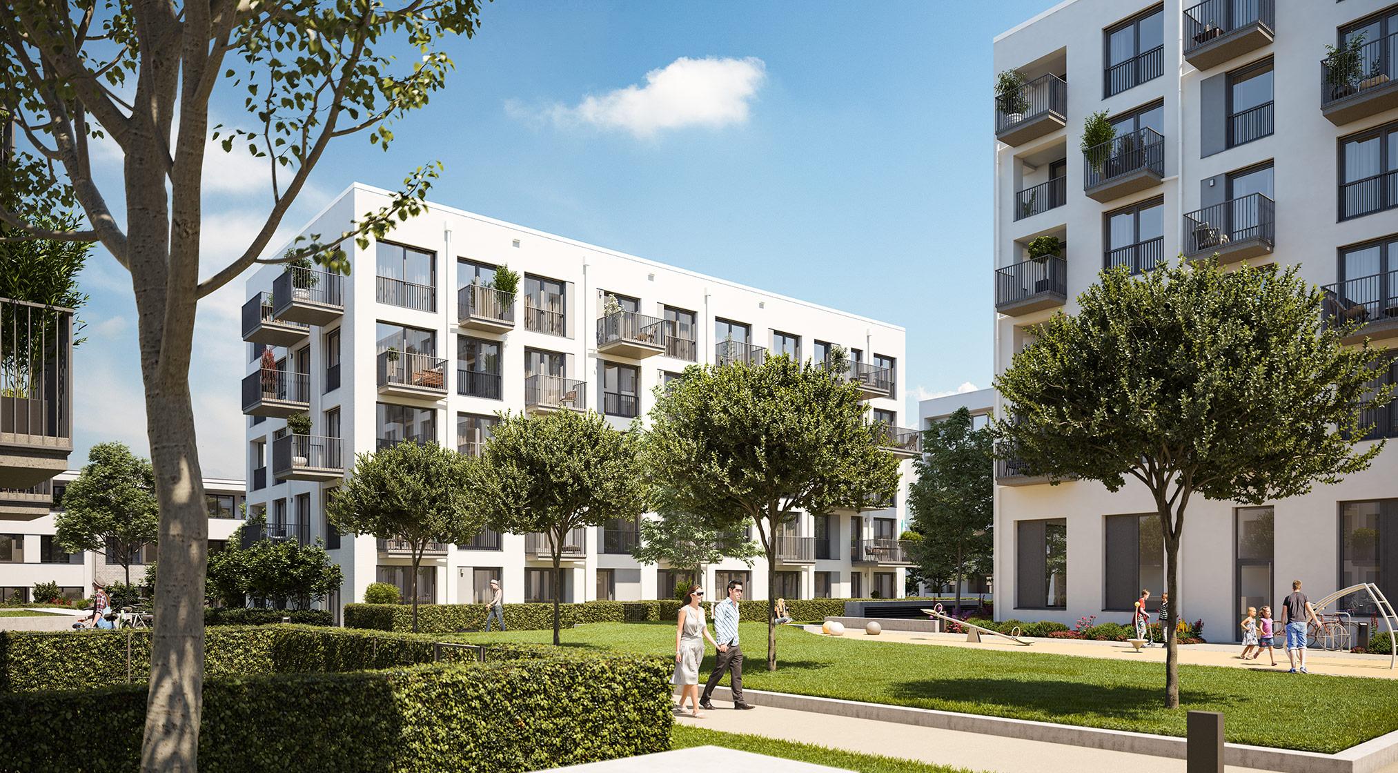 Immobilie Alexisquartier - Wohnen an der Allee - Projektdetails - Illustration 1