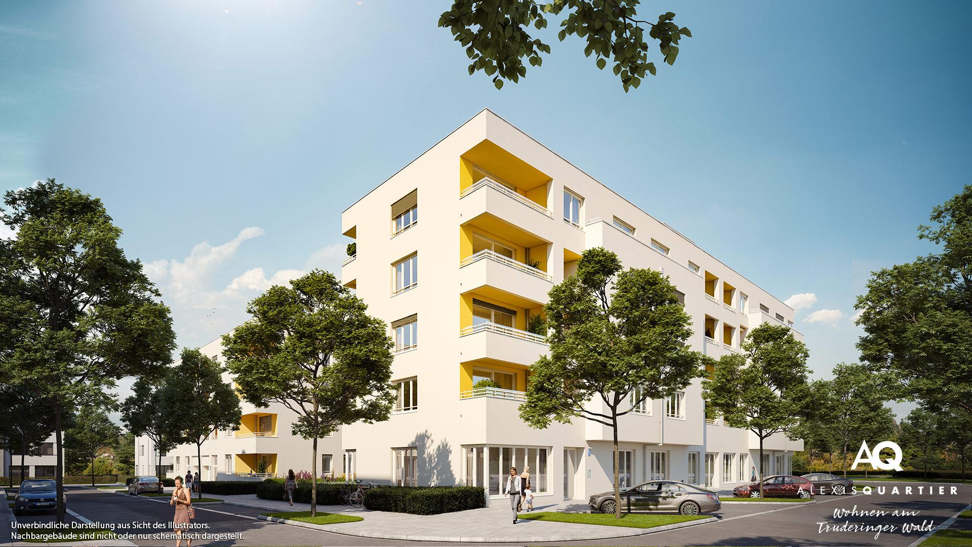 Immobilie Alexisquartier - Wohnen am Truderinger Wald - Illustration 1