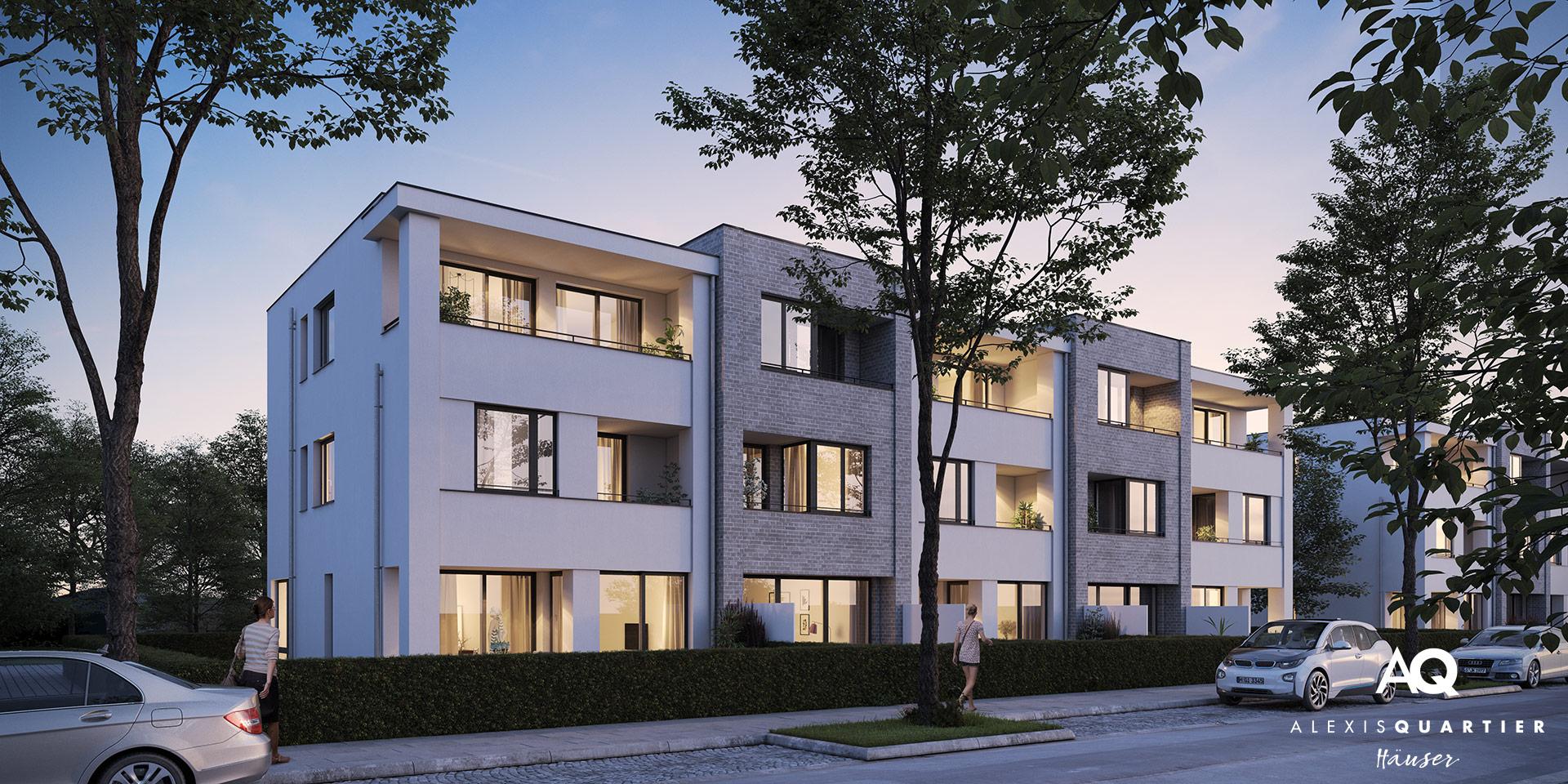 Reihenhäuser München: Alexisquartier