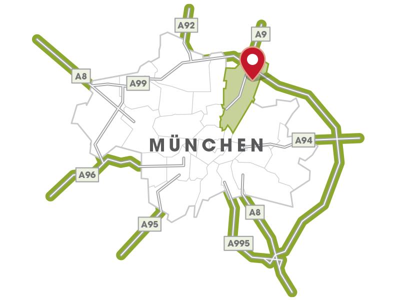 Immobilie ParkQuartett - Münchenkarte