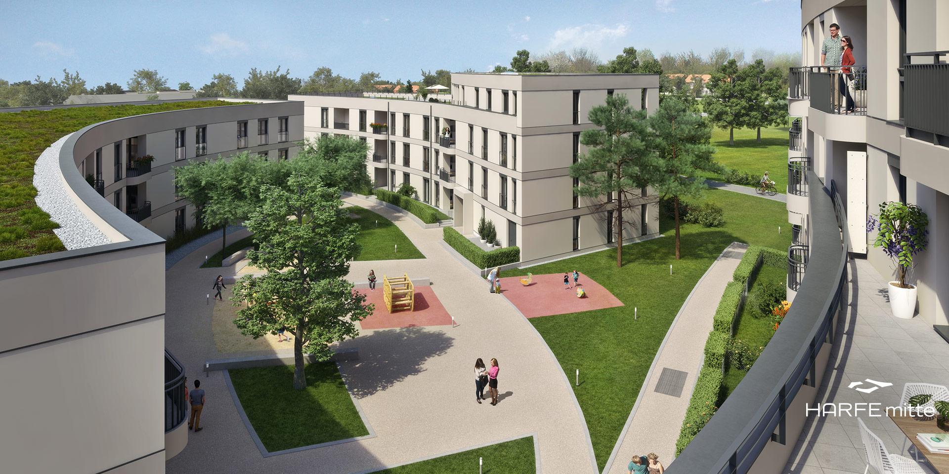 Eigentumswohnungen München: HARFE mitte