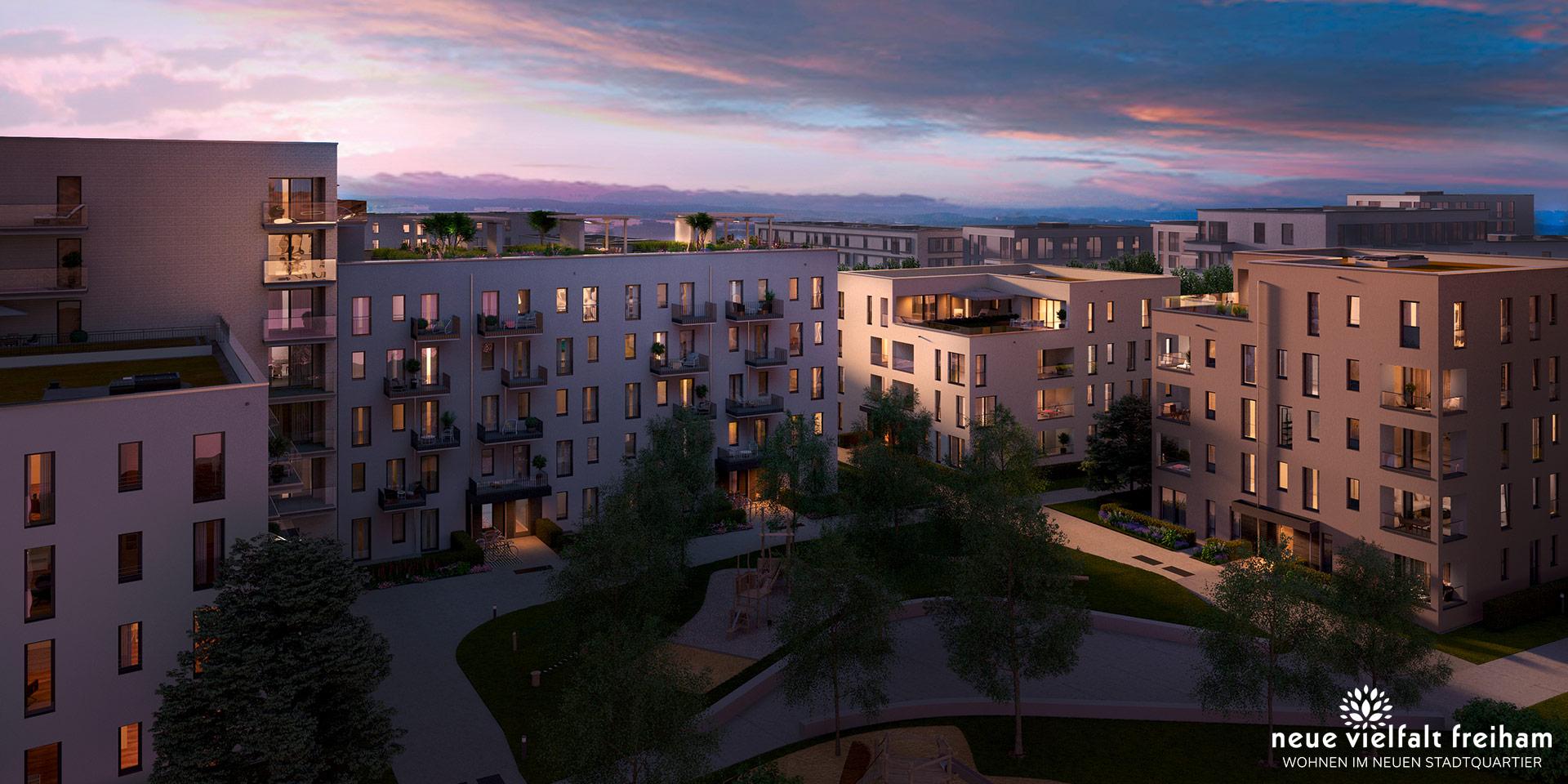 Condominiums munich: Neue Vielfalt Freiham