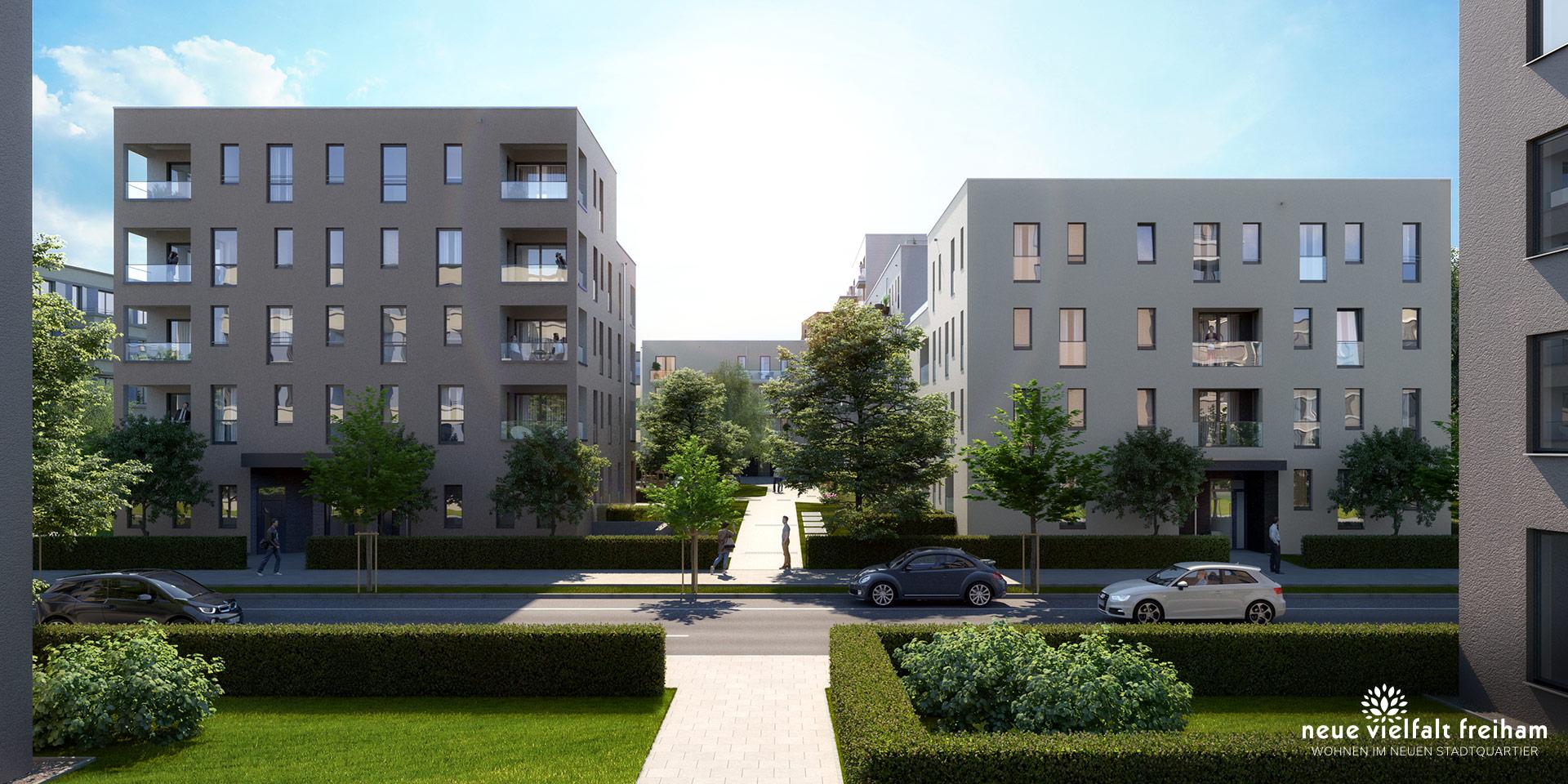 Eigentumswohnungen München: Neue Vielfalt Freiham