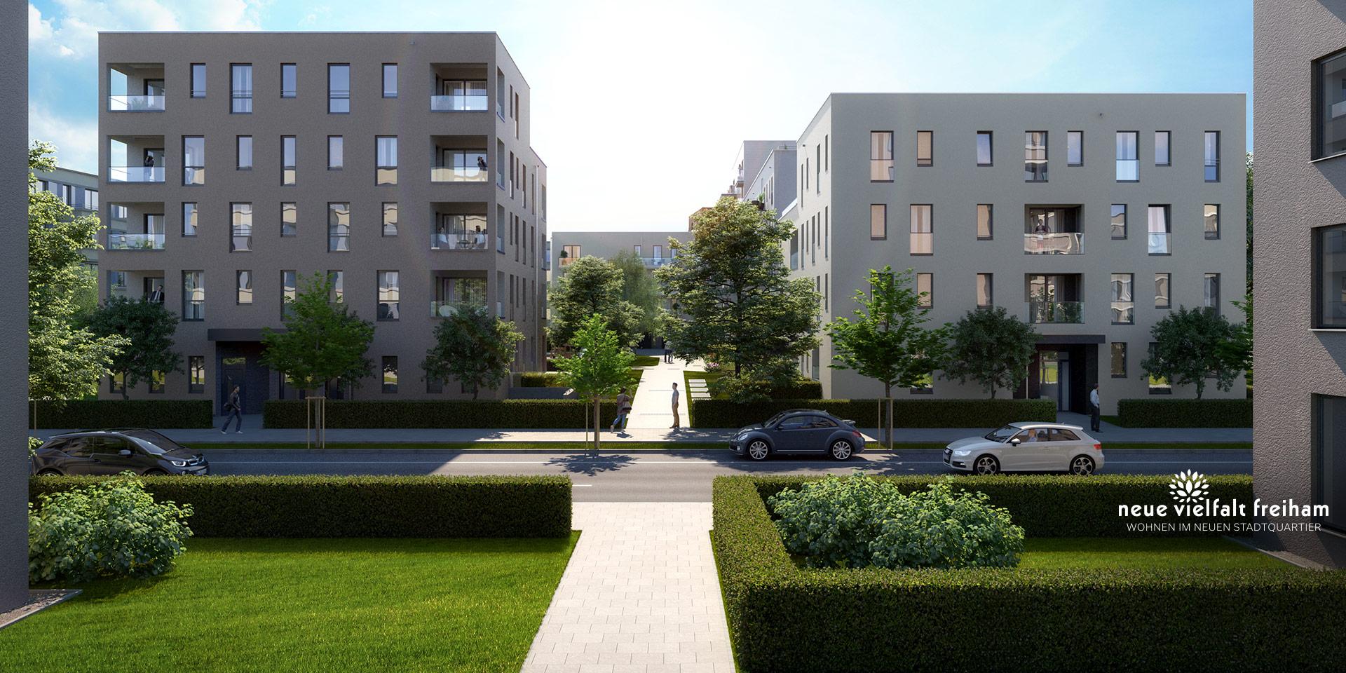 Property Munich: Neue Vielfalt Freiham