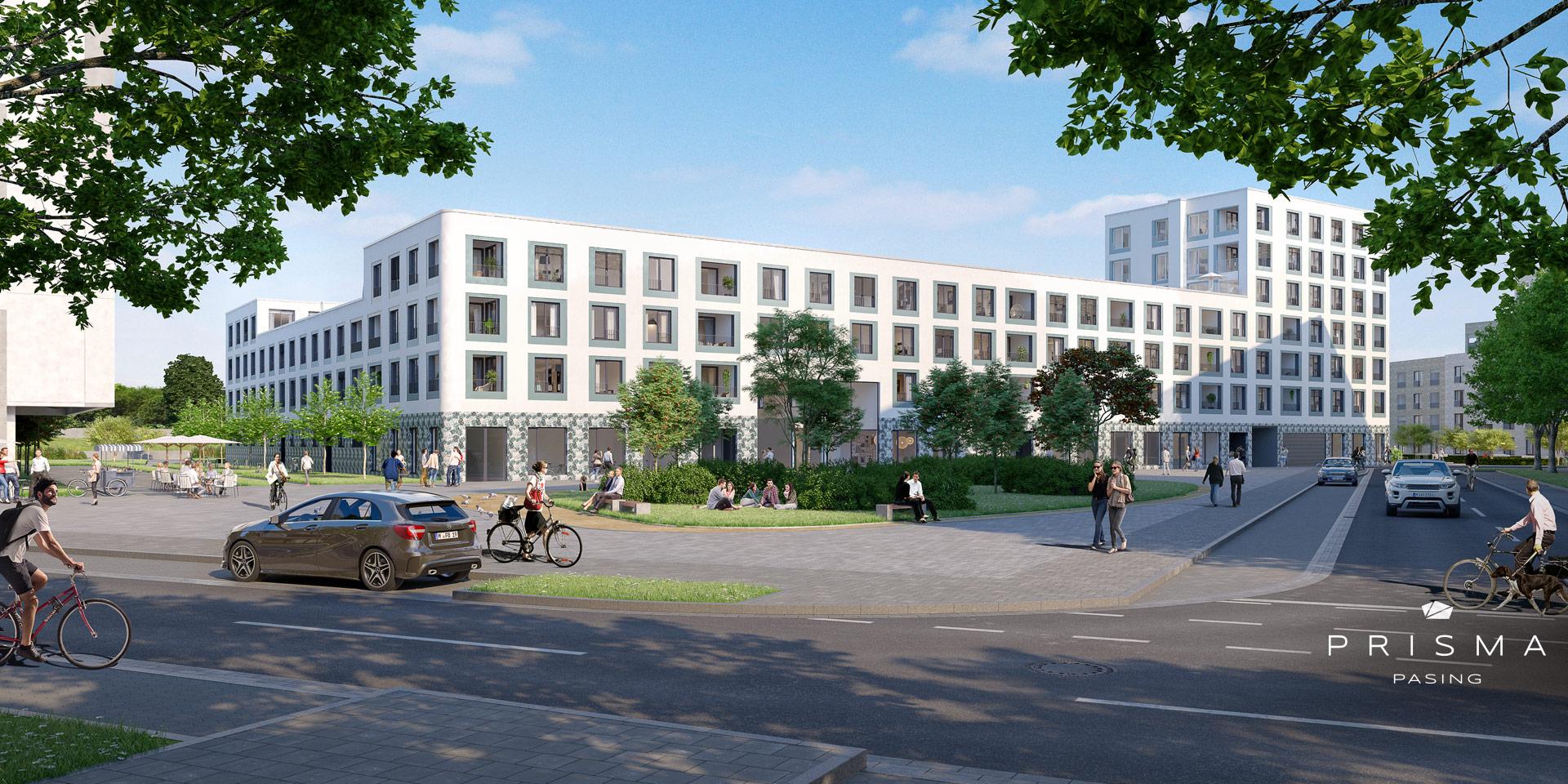 Eigentumswohnungen München: Prisma Pasing