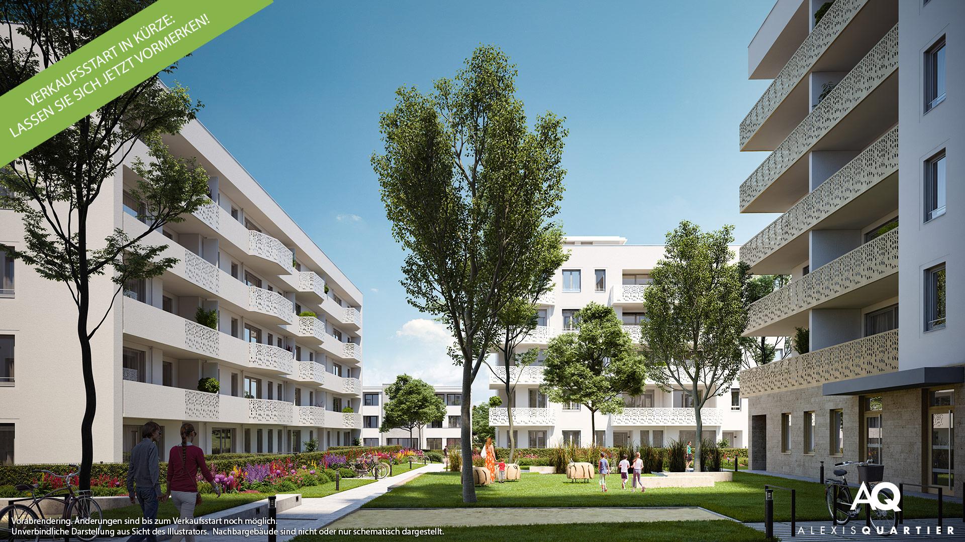 Immobilie Alexisquartier - Vorabillustration 2