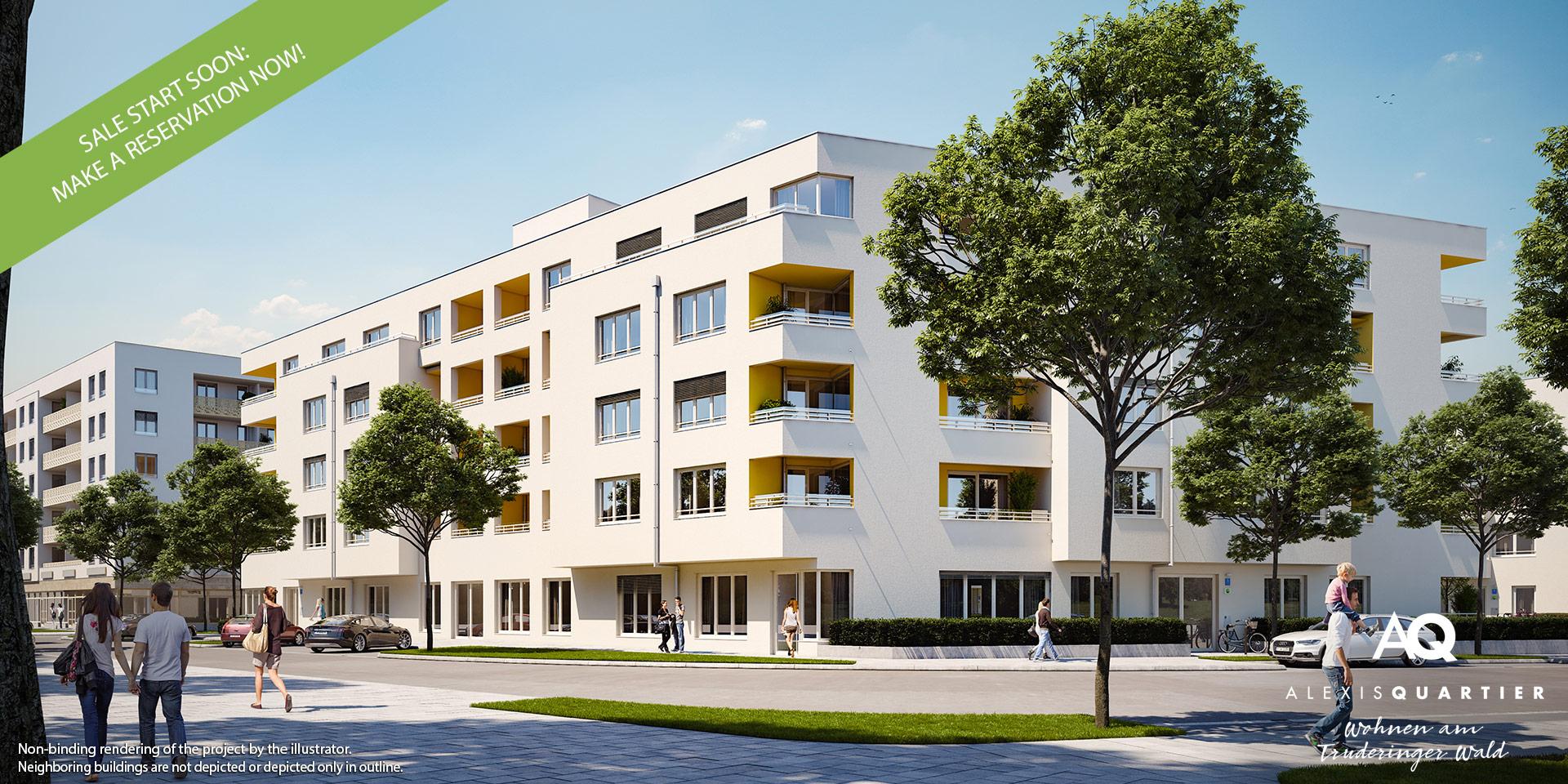 Property Munich: Alexisquartier Wohnen am Truderinger Wald