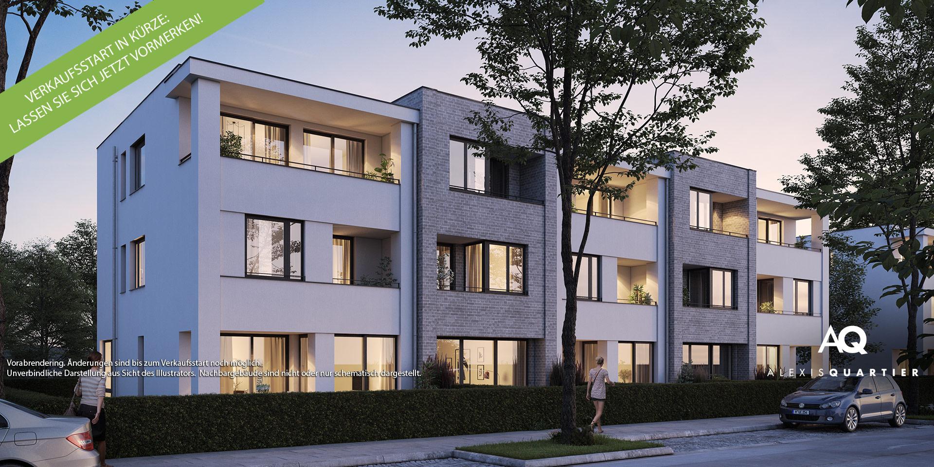 Townhouses munich: Alexisquartier