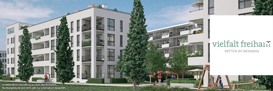 Eigentumswohnungen München: Vielfalt Freiham