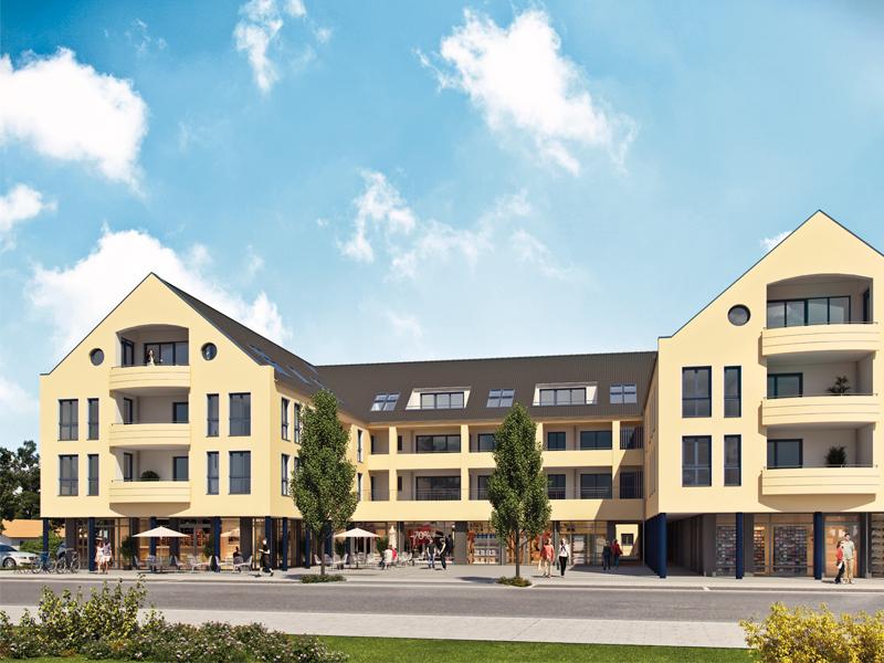 Immobilie Neue Mitte Neufahrn - Illustration Haus 1 - 4