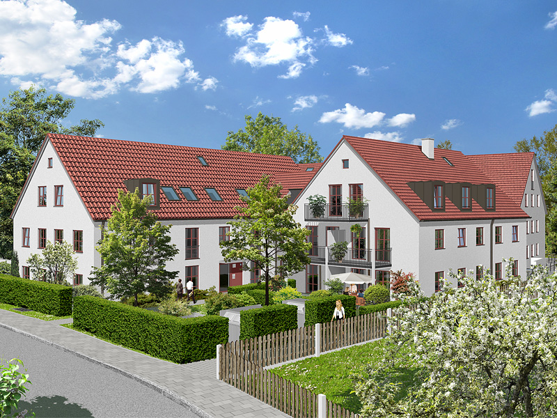 Neubau - Eigentumswohnungen in München - Obermenzing