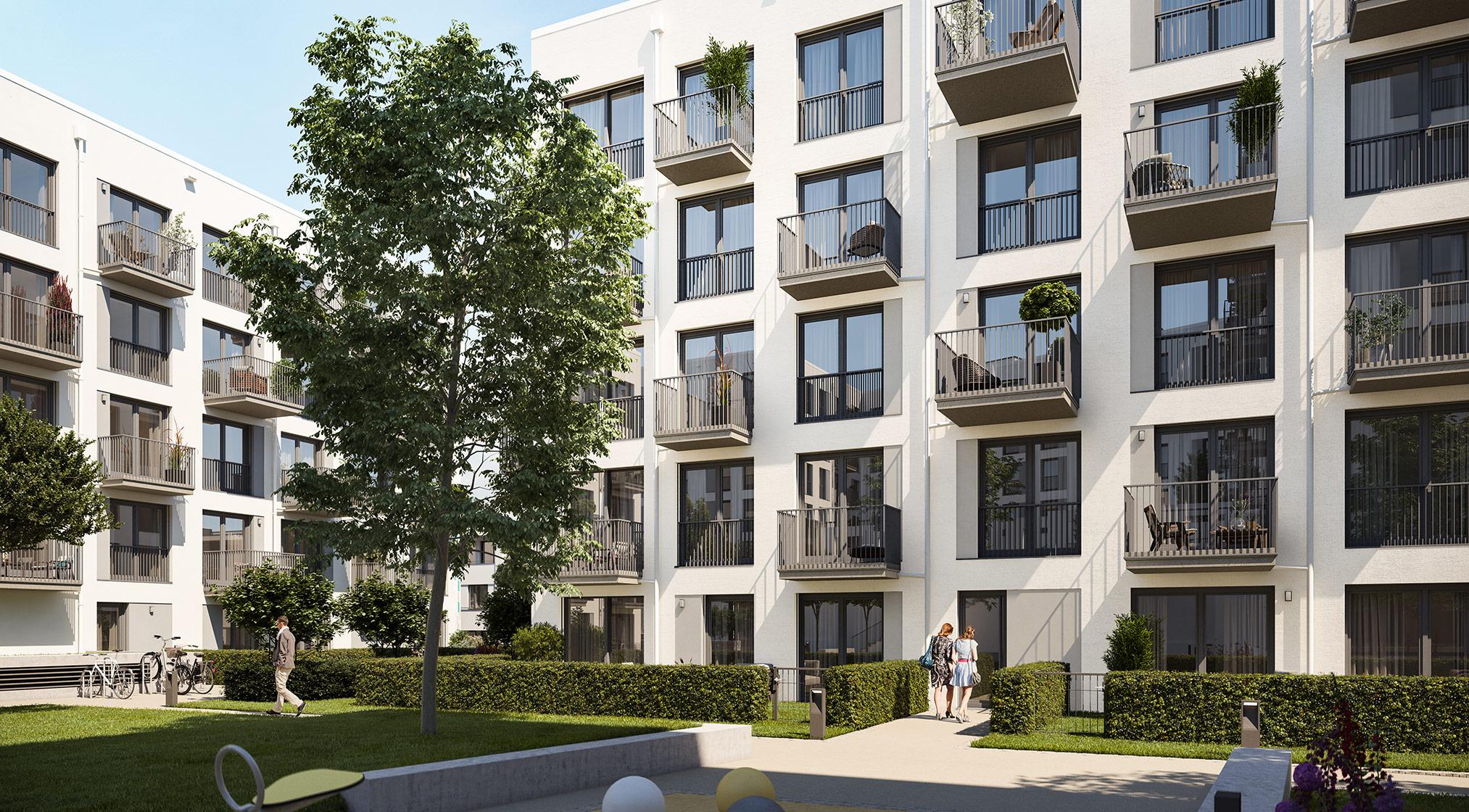 Immobilie Alexisquartier - Wohnen an der Allee - Projektdetails - Illustration 2