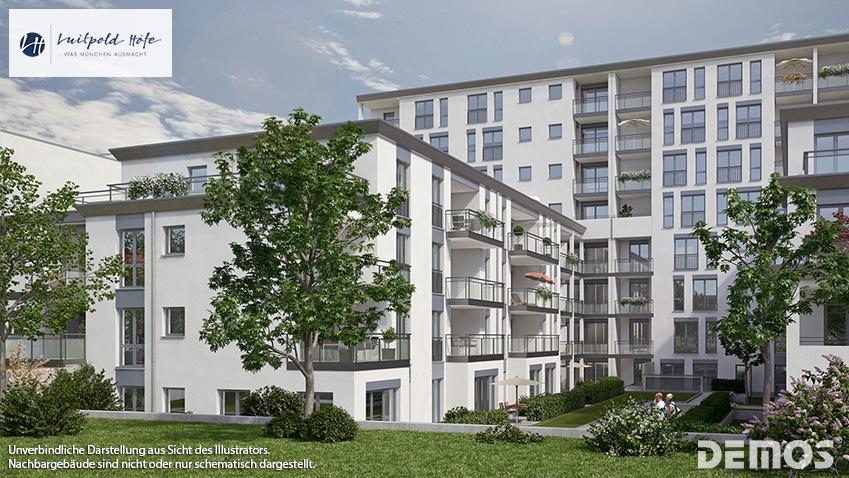 """""""Luitpold Höfe"""" in München-Milbertshofen: Alle Eigentumswohnungen reserviert"""