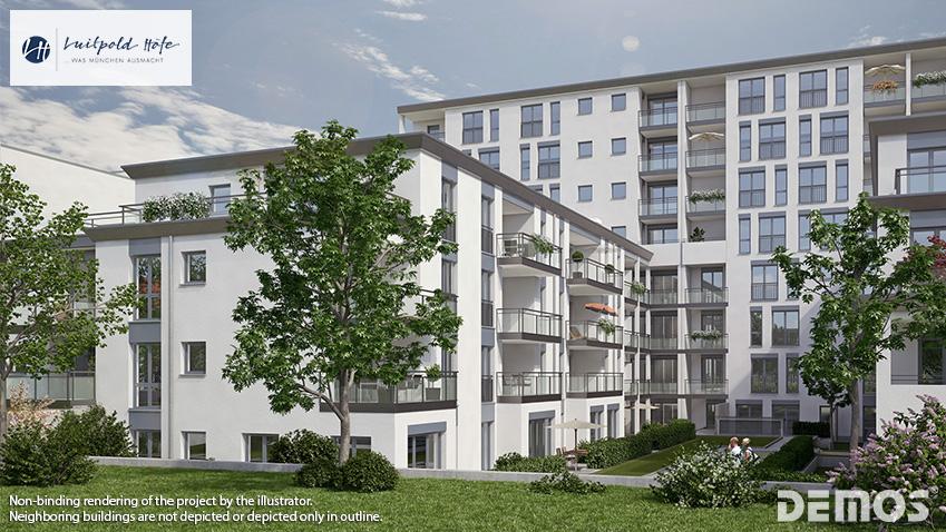 'Luitpold Höfe' in Munich-Milbertshofen: All condominiums reserved