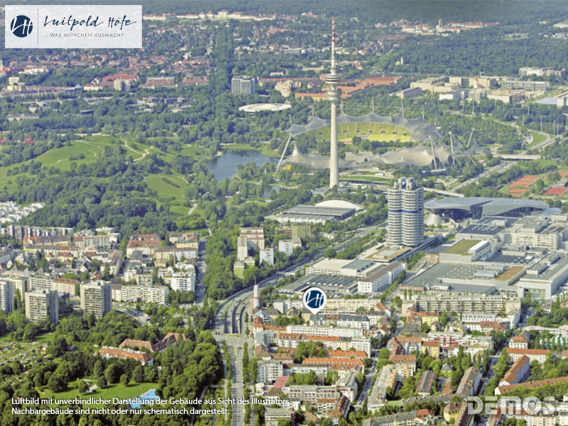 Immobilie Luitpold Höfe - Luftbild 1