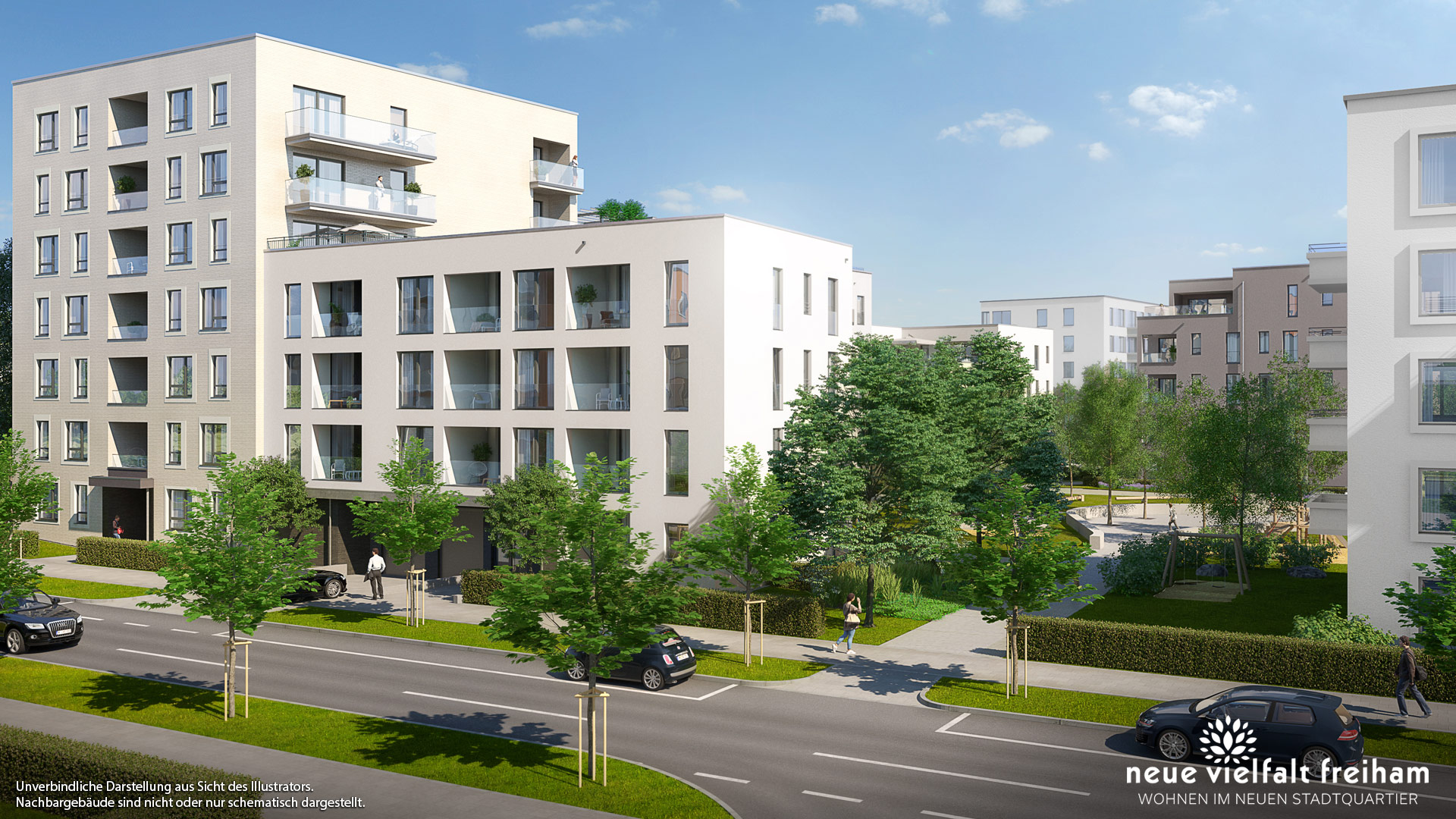 Immobilie Neue Vielfalt Freiham - Illustration 2