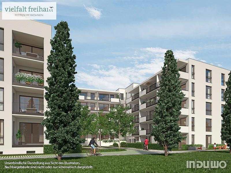 Immobilie Vielfalt Freiham - Illustration 2, Häuser 1, 7