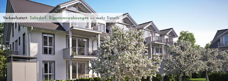 Neubau - Eigentumswohnungen in Salmdorf