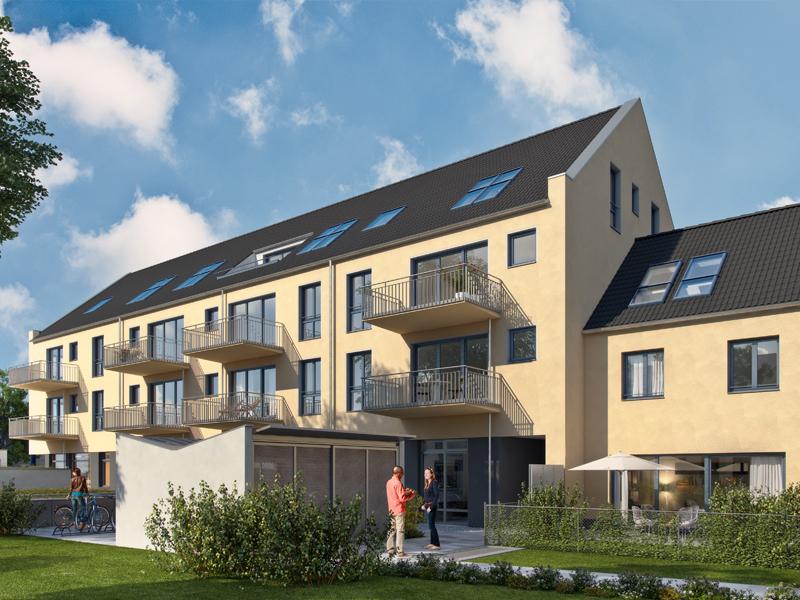 Immobilie Neue Mitte Neufahrn - Illustration Haus 3, 4