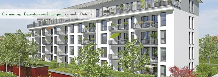 Neubau - Eigentumswohnungen in Germering