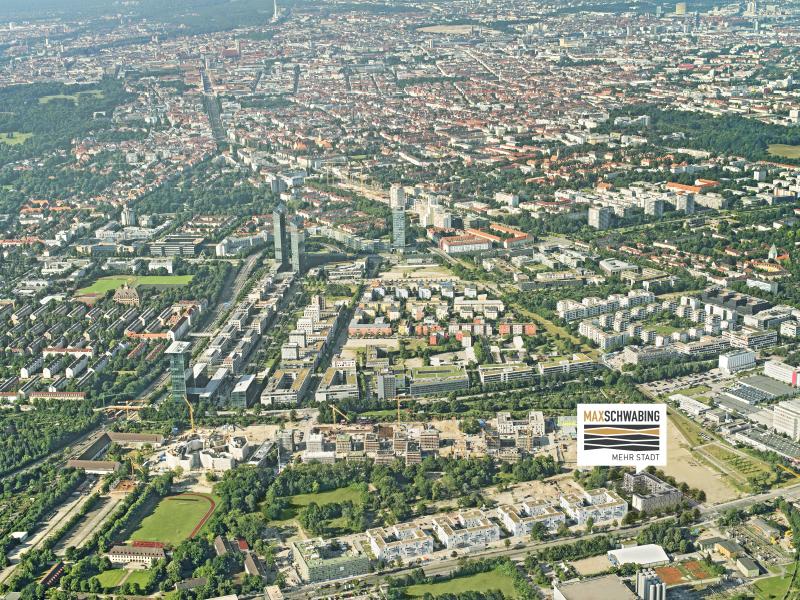 Immobilie Max Schwabing - Luftbild
