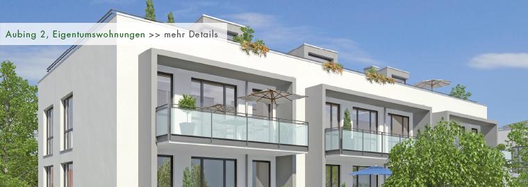 Neubau - Eigentumswohnungen in München - Aubing 2
