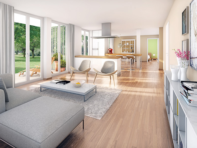 Property Wohnidyll OTTENDICHL - Illustration living room 1