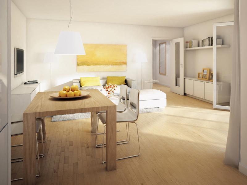 Property Wallensteinplatz - Illustration living room 1