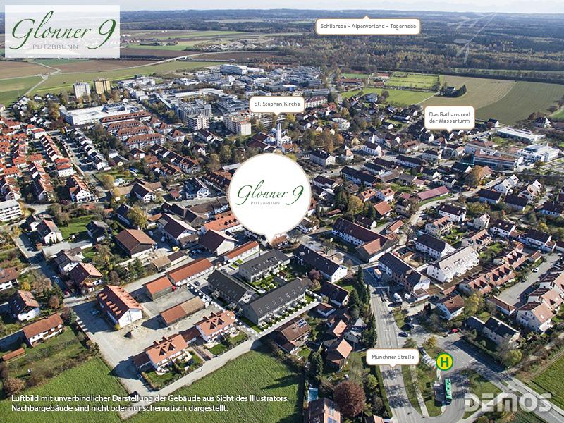 Immobilie Glonner 9 - Luftbild
