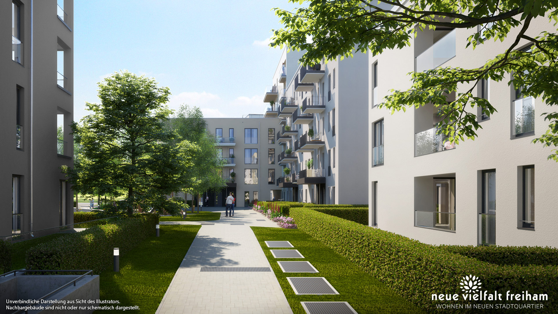 Immobilie Neue Vielfalt Freiham - Illustration 3