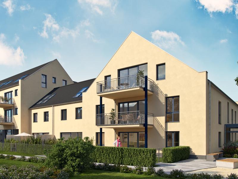 Immobilie Neue Mitte Neufahrn - Illustration Haus 5 - 7