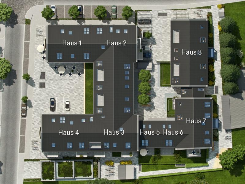 Immobilie Neue Mitte Neufahrn - Lageplan