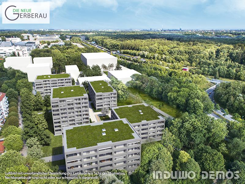 Immobilie Die neue Gerberau - Luftbild