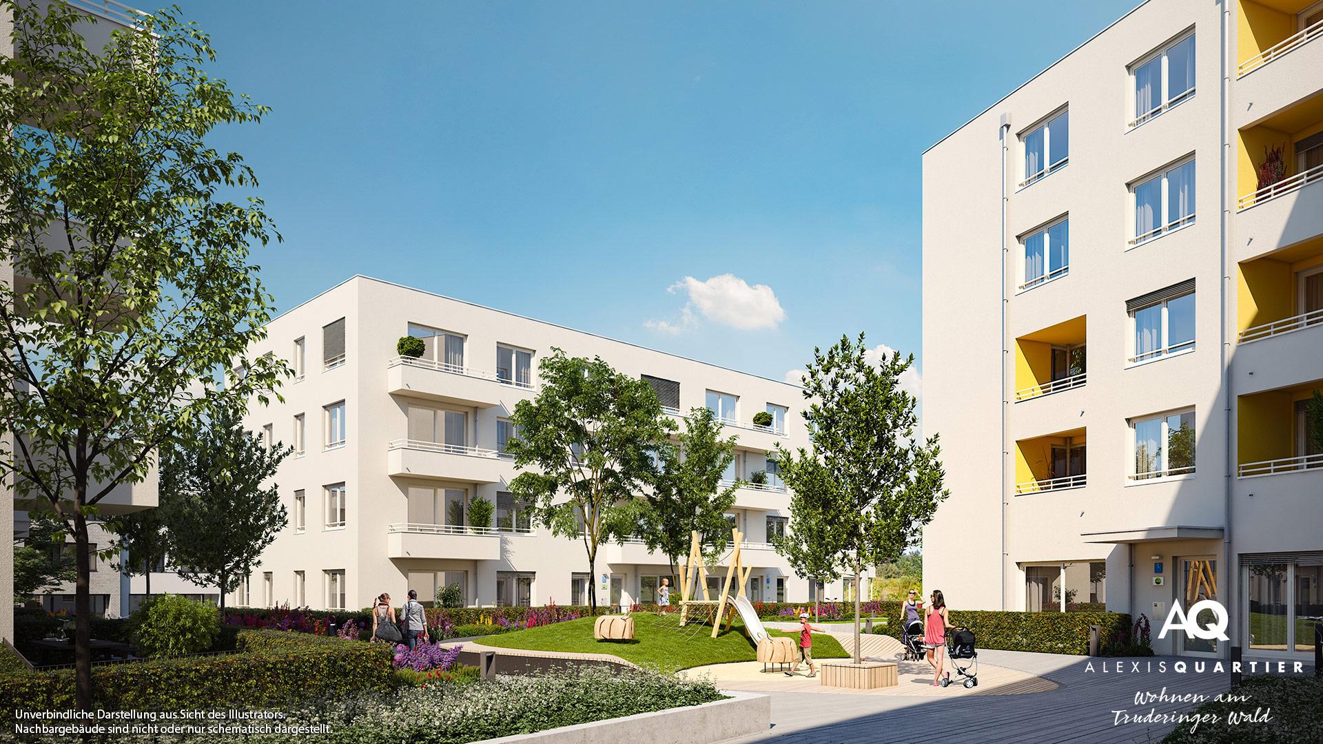 Immobilie Alexisquartier - Wohnen am Truderinger Wald - Illustration 4