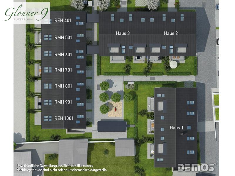 Immobilie Glonner 9 - Lageplan
