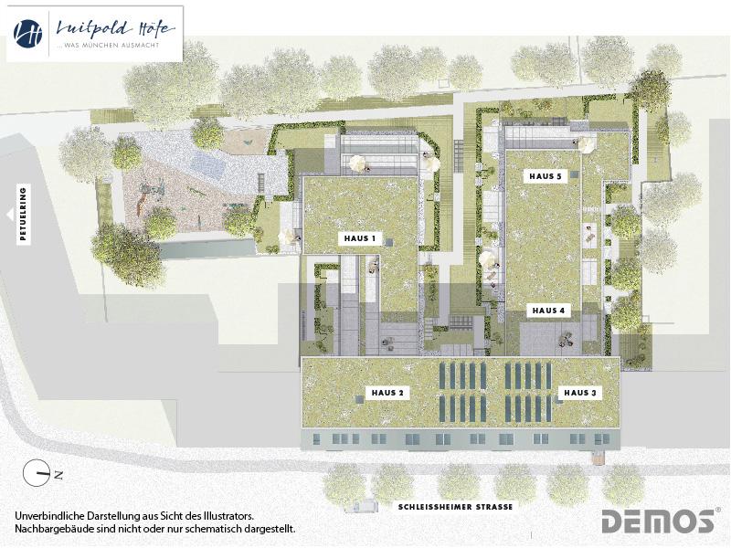 Immobilie Luitpold Höfe - Lageplan