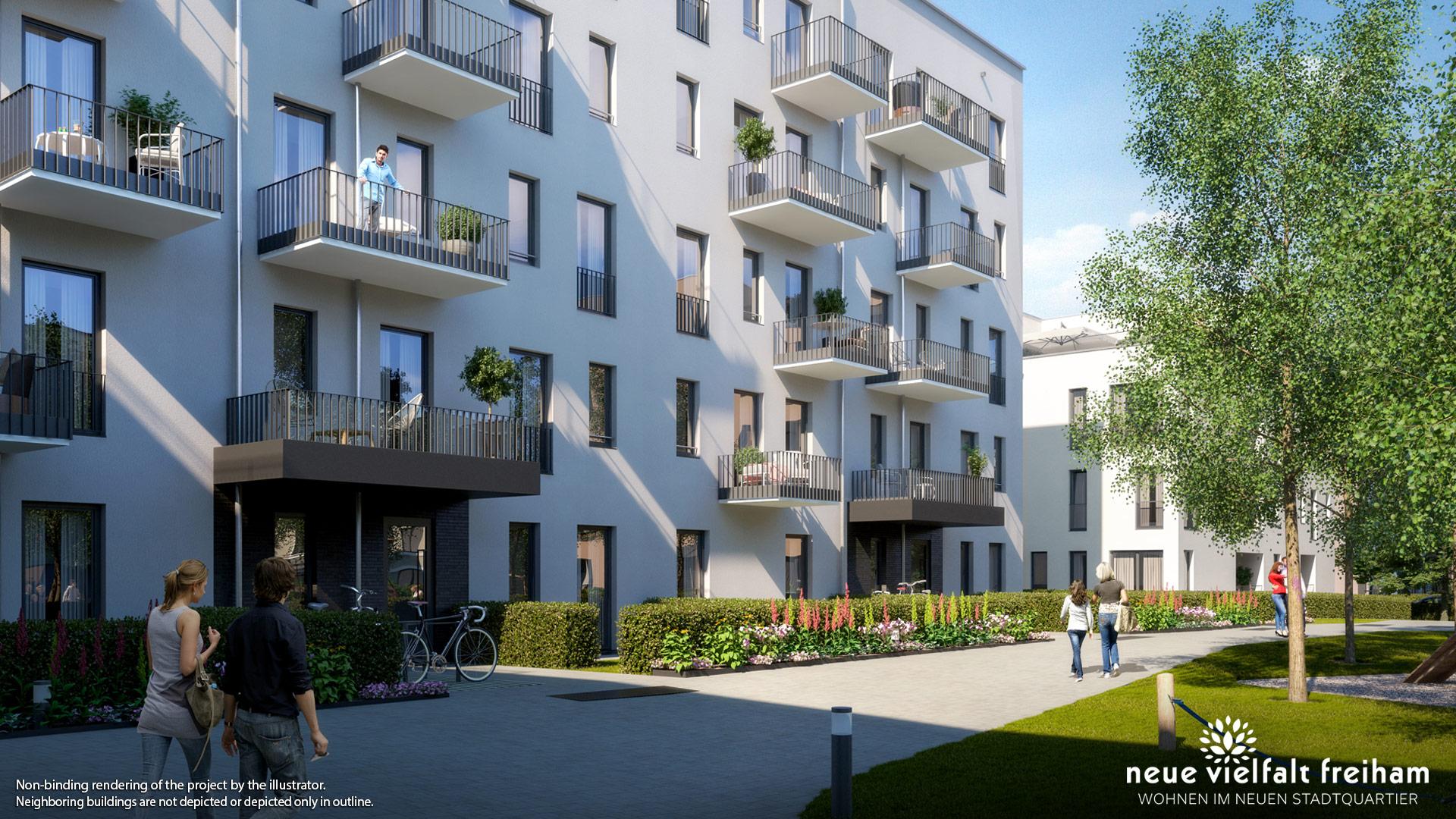 Property Neue Vielfalt Freiham – Illustration 4