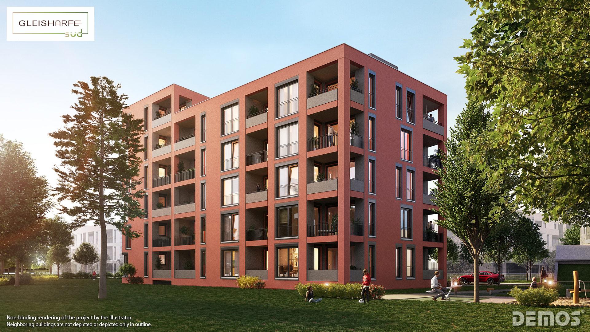 Property Gleisharfe Süd - Illustration 4