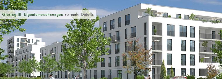 Neubau - Eigentumswohnungen in München - Giesing