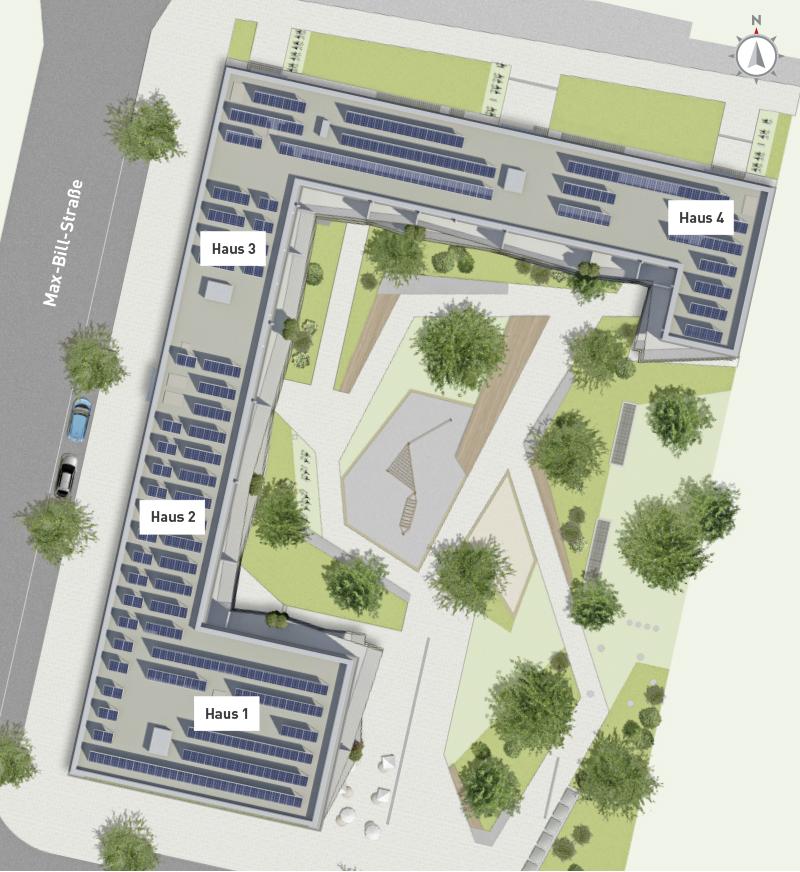 Immobilie Max Schwabing - Lageplan