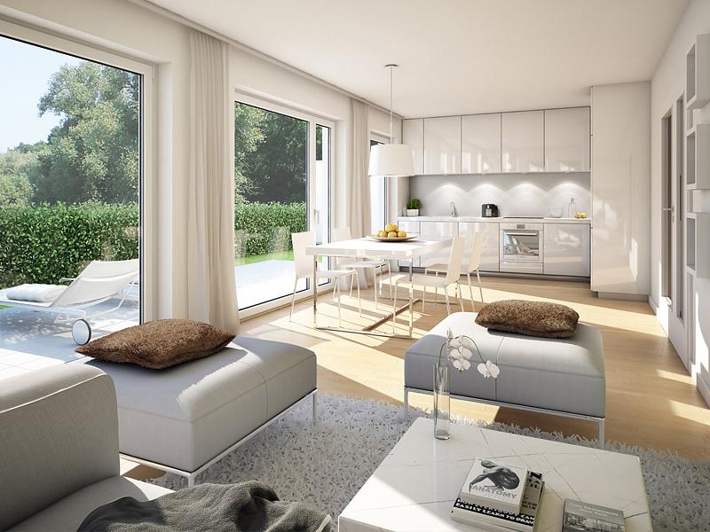 Immobilie VIVA WESTPARK - Illustration Wohnzimmer 1