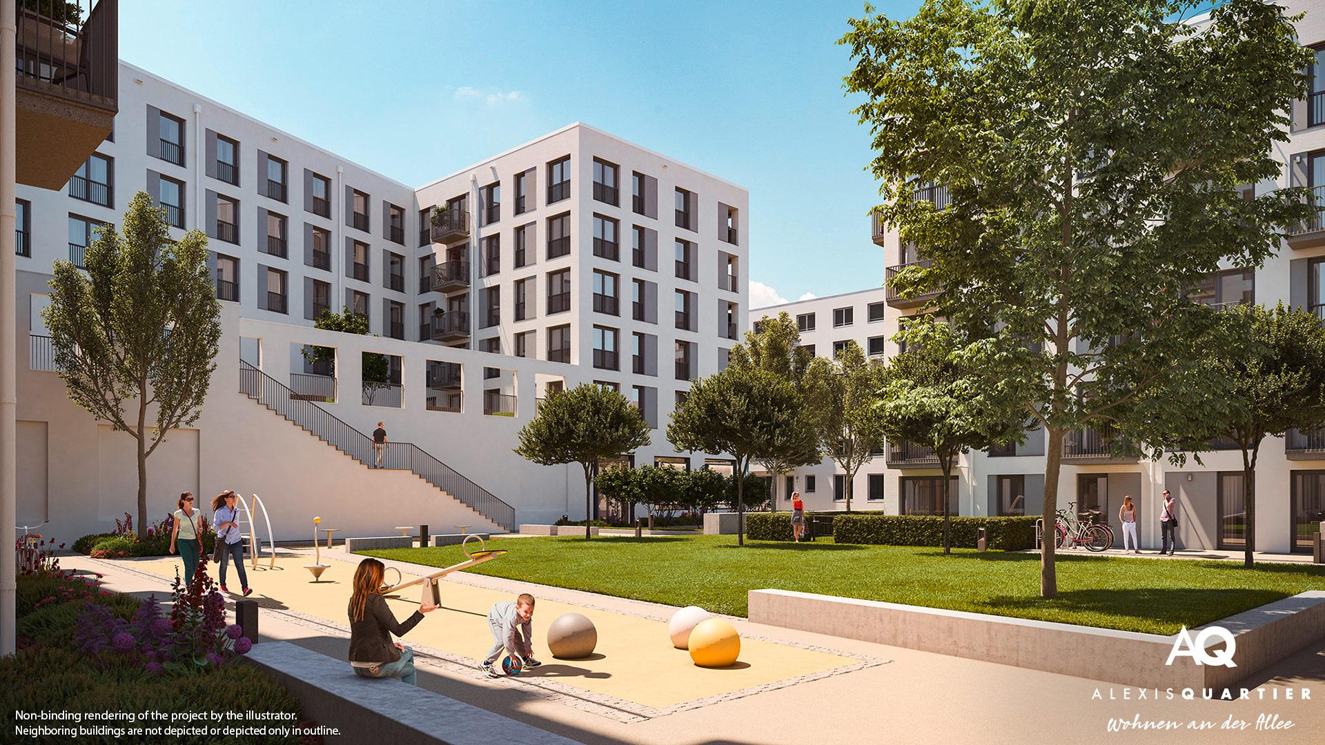 Property Alexisquartier - Wohnen an der Allee - Illustration 5