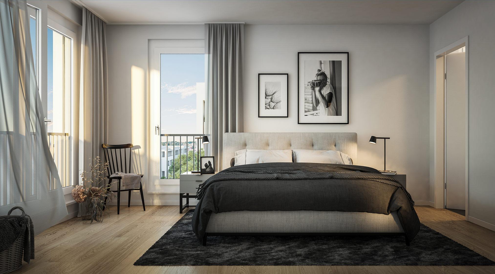 Immobilie Alexisquartier - Wohnen an der Allee - Projektdetails - Illustration 5