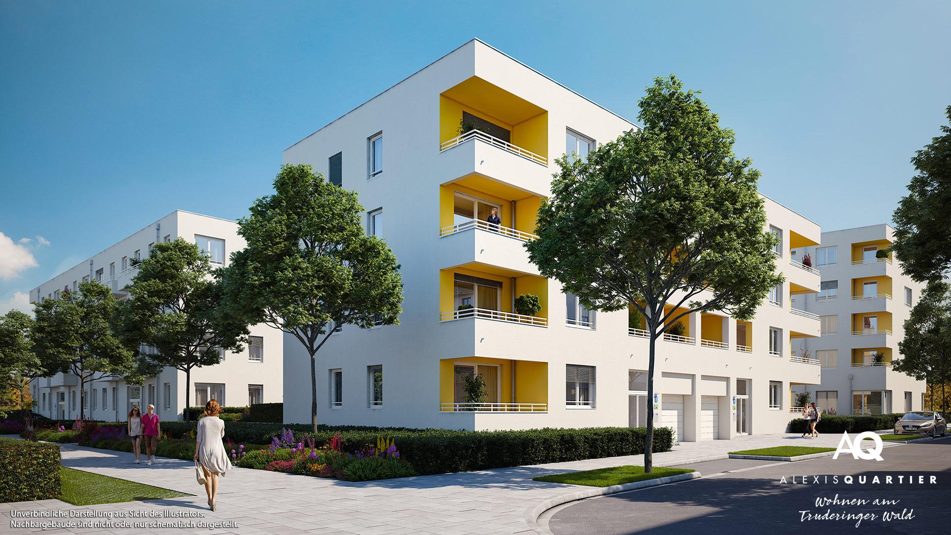 Immobilie Alexisquartier - Wohnen am Truderinger Wald - Illustration 5