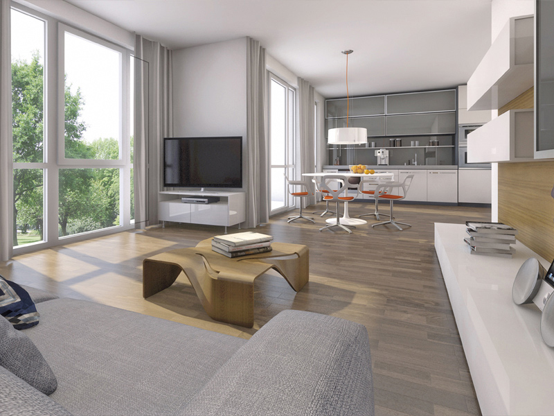 Property Gut Gelegen Germering - Illustration living room 2
