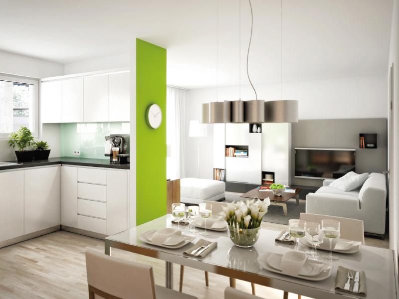 Immobilie Seidlhofgarten - Illustration Wohnzimmer 2