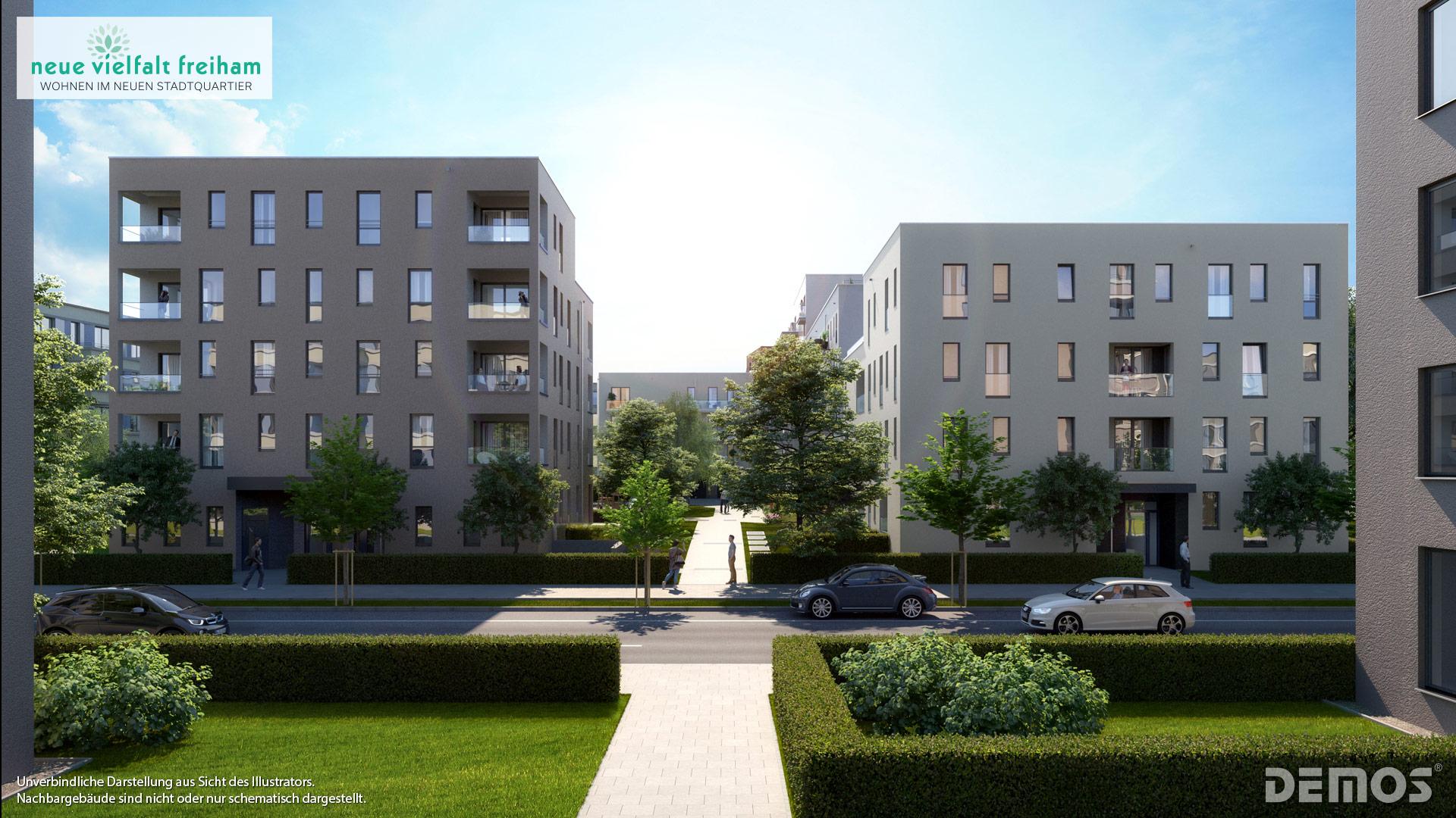 Immobilie Neue Vielfalt Freiham - Illustration 5