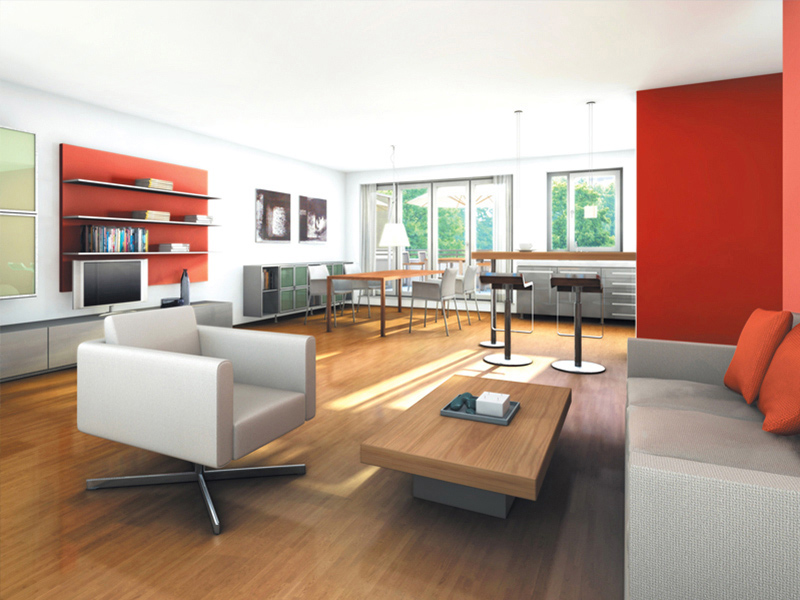 Property NEWWEST FREIHAM - Illustration living room 1