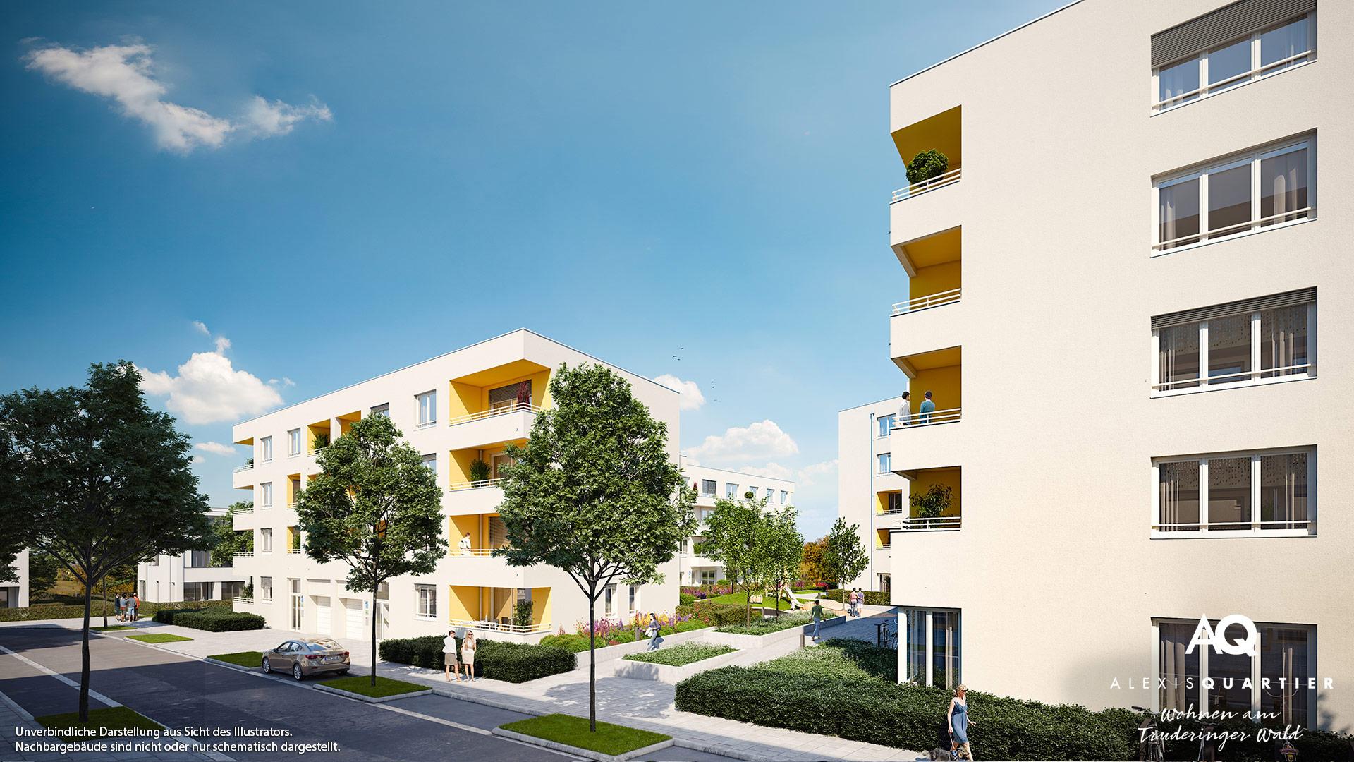 Immobilie Alexisquartier - Wohnen am Truderinger Wald - Illustration 6